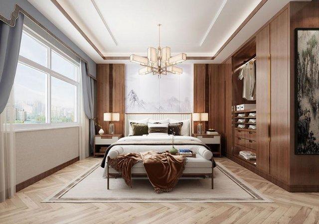 美到爆的卧室设计,这样摆放家具,卧室美美哒