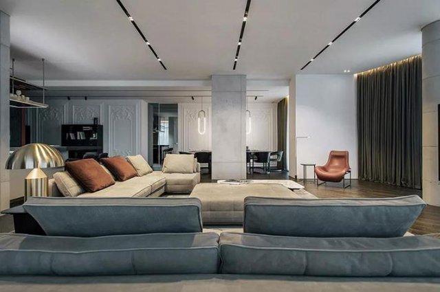 高级黑的别墅装修案例,到底有多高级?
