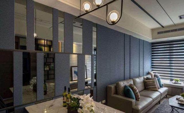 小户型莫兰迪配色,打造深邃优雅住宅