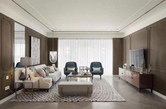 法式中国风的别墅装修案例,美到让人窒息的惊艳